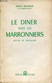 Le Diner Sous Les Marronniers - Couverture - Format classique