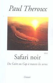 Safari noir - Intérieur - Format classique