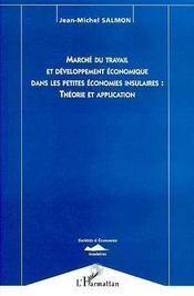 Marché du travail et développement économique dans les petites économies insumaires : théorie et application - Intérieur - Format classique