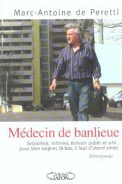 Medecin de banlieue - Couverture - Format classique