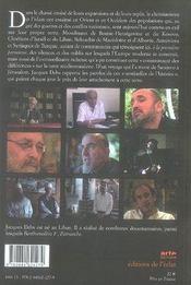 Musulmans d'europe, chrétiens d'orient - 4ème de couverture - Format classique