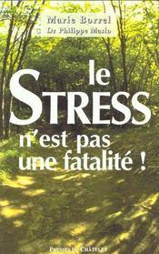 Le Stress N'Est Pas Une Fatalite - Intérieur - Format classique