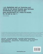 Dadaïsme - 4ème de couverture - Format classique