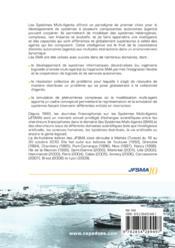 JFSMA'10 ; systèmes multi-agents ; défis sociétaux - 4ème de couverture - Format classique