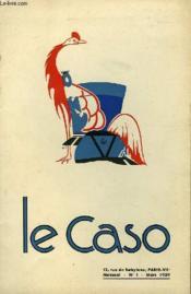 Le Caso N°1 - Organe Mensuel De Liaison Des Corniches De France Et De Navarre - Couverture - Format classique