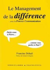 Le Management De La Difference - Couverture - Format classique