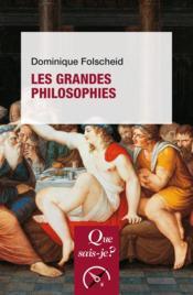 Les grandes philosophies - Couverture - Format classique