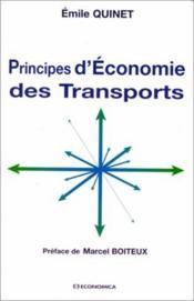 Principes d'économie des transports - Couverture - Format classique