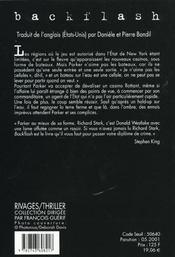Backflash - 4ème de couverture - Format classique