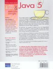 Synthex - 4ème de couverture - Format classique