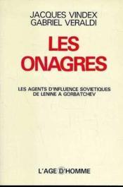 Les Onagres - Couverture - Format classique