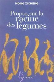 Propos Sur La Racine Des Legumes - Intérieur - Format classique
