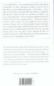 Fille Du Benitier (La) - 4ème de couverture - Format classique