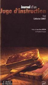 Journal d'un juge d'instruction - Intérieur - Format classique