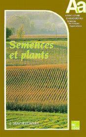 Semences et plants - Couverture - Format classique