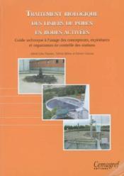 Traitement biologique des lisiers de porcs en boues activees - Couverture - Format classique