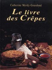 Le livre des crêpes - Intérieur - Format classique