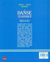 La danse classique - 4ème de couverture - Format classique