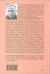 Le Jour Avant Le Lendemain - 4ème de couverture - Format classique