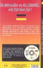 Se debrouiller en allemand vite fait bien fait - Intérieur - Format classique