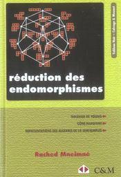 Reduction des endomorphismes tableaux de young, cone nilpotent, representations des algebres de lie - Intérieur - Format classique