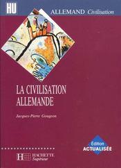 La civilisation allemande - Intérieur - Format classique