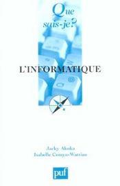L'informatique - Intérieur - Format classique