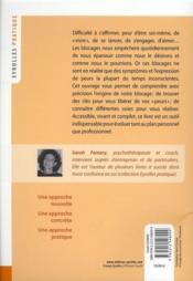 Se libérer de ses blocages (2e édition) - 4ème de couverture - Format classique