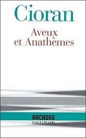 Aveux Et Anthemes - Intérieur - Format classique