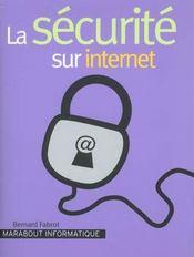 La Securite Sur Internet - Intérieur - Format classique