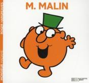 Monsieur Malin - Couverture - Format classique