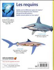 Les requins - 4ème de couverture - Format classique