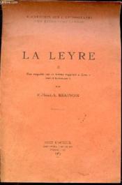LA LEYRE - II. UNE ENQUETE SUR LE TERME SUPPOSE