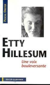 Etty hillesum - Couverture - Format classique