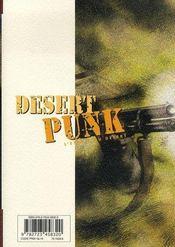 Desert punk t.2 - 4ème de couverture - Format classique