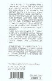 Crying freeman - 4ème de couverture - Format classique