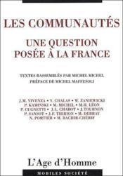 Les communautés ; une question posée à la France - Couverture - Format classique