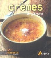 Cremes Et Flans (Desserts) - Couverture - Format classique