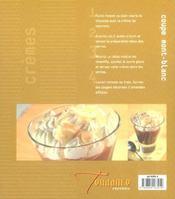 Cremes Et Flans (Desserts) - 4ème de couverture - Format classique