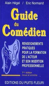 Guide du comédien (7e edition) - Intérieur - Format classique