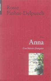 Anna ; une histoire française - Intérieur - Format classique
