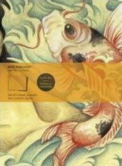 Cahier ligne artistique ; poisson - Couverture - Format classique