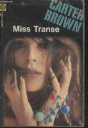 Collection La Poche Noire. N° 63 Miss Transe. - Couverture - Format classique