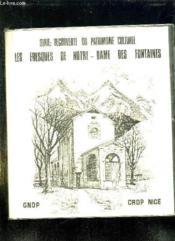 Les Fresques De Notre Dame Des Fontaines + 20 Diapositives. - Couverture - Format classique