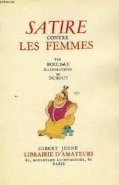 Satire Contre Les Femmes - Couverture - Format classique