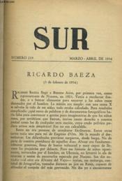 Sur N° 239, Marzo-Abril De 1956 - Couverture - Format classique
