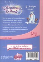 Le royaume enchanté t.5 ; la montagne magique - 4ème de couverture - Format classique