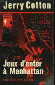 Jeux D'Enfer A Manhattan - Couverture - Format classique