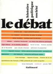 Revue Le Débat N.8 - Couverture - Format classique