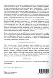 RIVENEUVE CONTINENTS N.25 ; les nouvelles lettres persanes - 4ème de couverture - Format classique